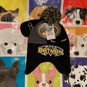 Batman Boys Hat and Glove Set
